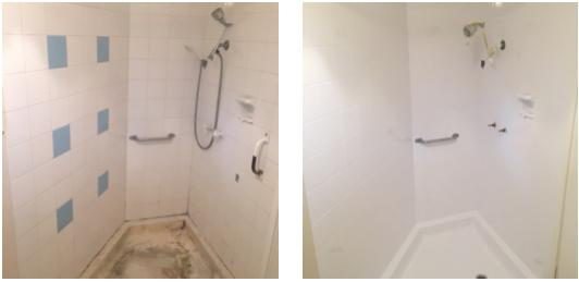 Enjoy the difference of a Shower Tray Resurface & Shower Tray Repair by Mend A Bath Australia - Perth